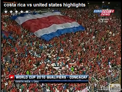 USA vs. Costa Rica Soccer Highlights