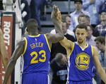 Curry Scores 26 as Warriors Stay Pe