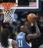 Garnett Sets Defensive Rebounds Rec