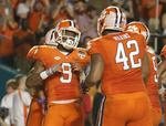 Clemson Pulls Away From Oklahoma in
