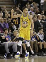Curry's 38 Leads Warriors Past King