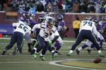 Russell Wilson Turns Fumbled Snap I
