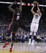 Warriors Top Miami for 36th Win