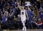 Curry's Triple-Double Leads Warrior