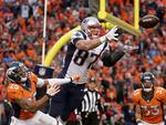 Gronk Makes Great Catch on 4th-and-