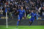 Late Goal Boosts Leicester's EPL Le