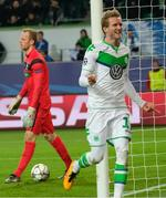 Schurrle Goal Helps Wolfsburg Advan