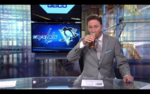 Anchor Drinks on Air After Capitals