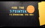 How the 3-Pointer Is Changing the N