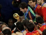 Iker Casillas' Winning Kiss