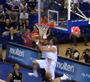 Rudy Fernandez Reverse Alley Oop From Ricky Rubio