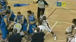 Fight Breaks Out in Canada vs. Italy Basketball Game