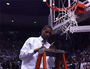 BYU's Davies Cuts Down Net