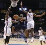Durant Pours in 41 As Thunder Ousts Nuggets