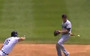 Indians' Cabrera Goes Behind the Back on Double Play