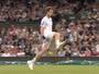 Murray Hits Between the Legs