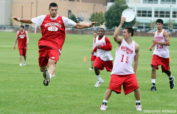 Secret to Wisconsin Basketball's Success: Ultimate Frisbee