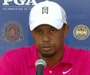 Woods Frustrated by 1st Round